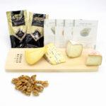 caja de quesos cremosos sin cerveza