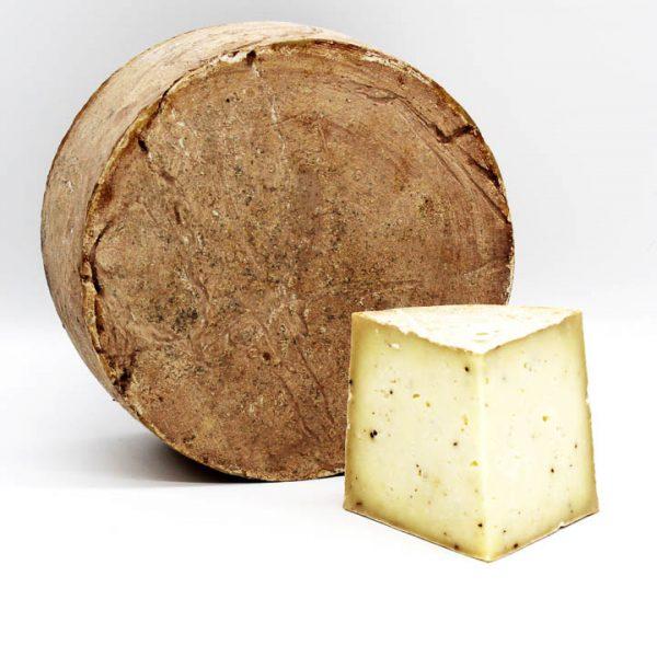 queso de oveja con boletus